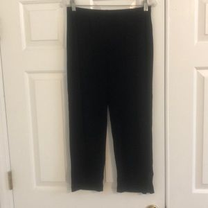 Chico's Travelers Cropped Ankle Zip Pants 1 Small